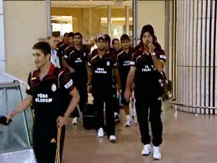 קבוצת גלאטסראיי הטורקית (צילום: ספורט 5)