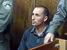 עמיר מולנר בבית משפט (צילום: גלעד שלמור)