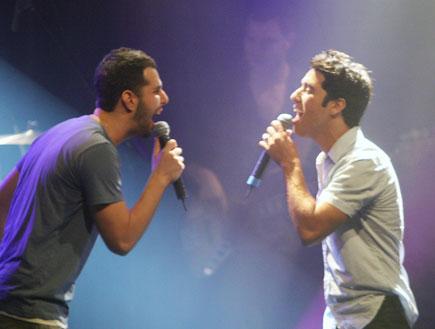 דור דניאל והראל סקעת הופעה 5 (צילום: אורי אליהו)