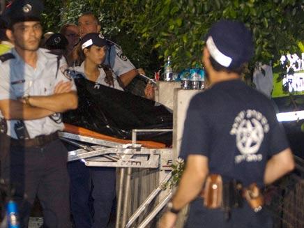 זירת הרצח בתל אביב, ארכיון (צילום: רויטרס)
