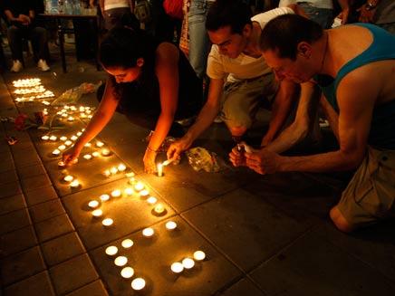 שנה לרצח בברנוער (צילום: רויטרס)
