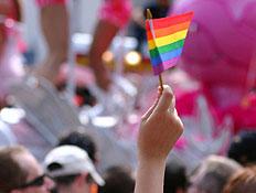 מצעד הגאווה- נוער גיי (צילום: Arpad Benedek, Istock)