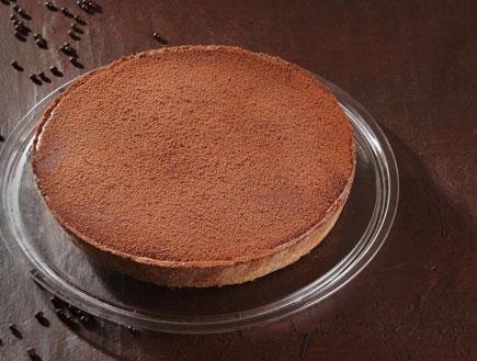 """טארט קרמל ושוקולד (צילום: """"השוקולד שלי"""" בעריכת אלינוער רבין, עמותת """"ילדים שלנו"""")"""
