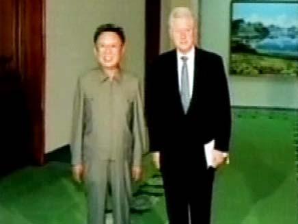 ביל קלינטון עם eho dwubd thk (צילום: חדשות 2)