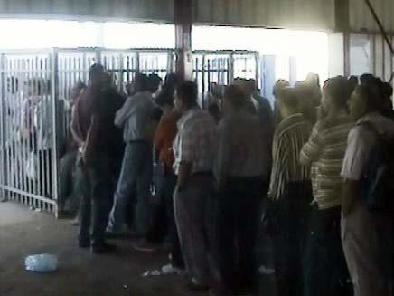 מחסום קלנדיה (צילום: חדשות 2)