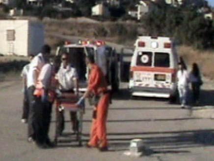 חייל נפצע מפליטת כדור. ארכיון (צילום: חדשות 2)