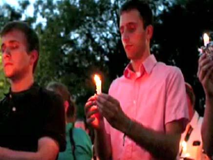 מזדהים בעולם עם הומואים (צילום: חדשות 2)