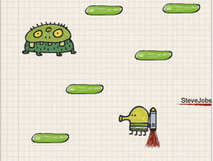 Doodle-Jump-5, אייפון, iphone