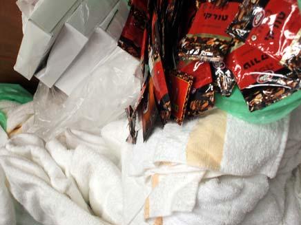 גניבת ציוד ממלון שרתון מוריה אילת (צילום: דובר מרחב שרון)