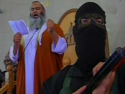 מהומות בעזה  ראש אלקעידה (צילום: חדשות2)