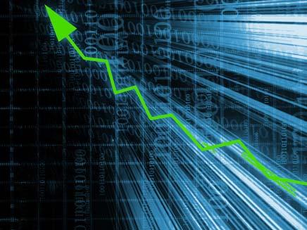 בורסה כלכלה אינפלציה עליה (צילום: חדשות 2)