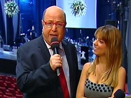 יומולדת לפרס, טוביה צפיר שירי מיימון (צילום: חדשות 2)
