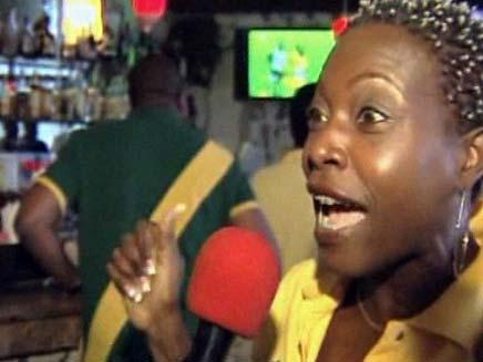 חגיגות בג'מייקה (צילום: חדשות 2)
