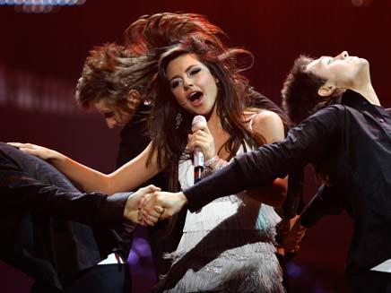 נבחרת ארמניה באירוויזיון (צילום: AP)