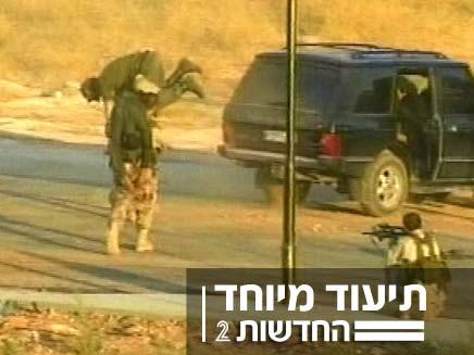 שיחזור חטיפת חיליים בלבנון (צילום: חדשות 2)