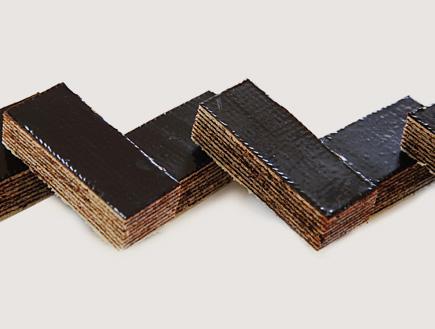 ופל שוקולד ביתי (צילום: פרווה, הוצאת אורנית)