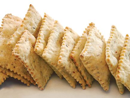 חטיפי שומשום (צילום: פרווה, הוצאת אורנית)