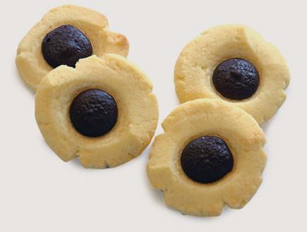 עוגיות לב שוקולד (צילום: פרווה, הוצאת אורנית)