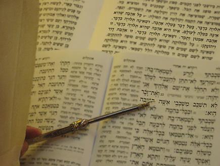 """ספר התנ""""ך (צילום: דרור - עורך אתר הו""""ד)"""