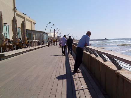 נמל תל אביב (צילום: חדשות 2)