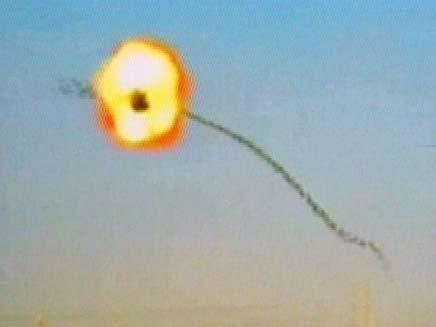תרגיל ירי כנגד הקאסם (צילום: רפאל)