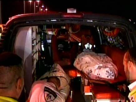 תאונת דרכים סמוך לאליקים (צילום: חדשות 2)