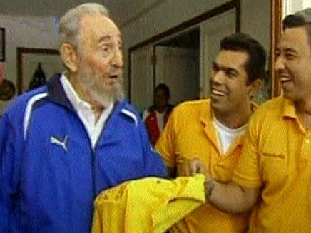 הווידאופדיה: פידל קסטרו (öéìåí: מתוך שידורי,טלוויזיה,קובנית,פידל,קסטרו)