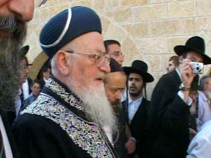 הרב מרדכי אליהו (צילום: חדשות 2)
