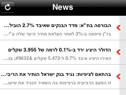 Israel Money news (צילום: mako)