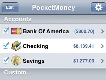 PocketMoney accounts (צילום: mako)