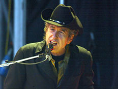 בוב דילן בהופעה (צילום: Dave Hogan, GettyImages IL)