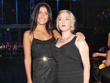 לינור אברג'יל ומיה דגן -אירוע נפגעות תקיפה מינית (צילום: שוקה כהן)