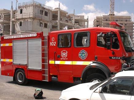 כמעט אסון בגן. ארכיון (צילום: דוברות שרותי כבאות והצלה בירושלים)