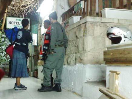רצח בירושלים (צילום: אבנר דביר)