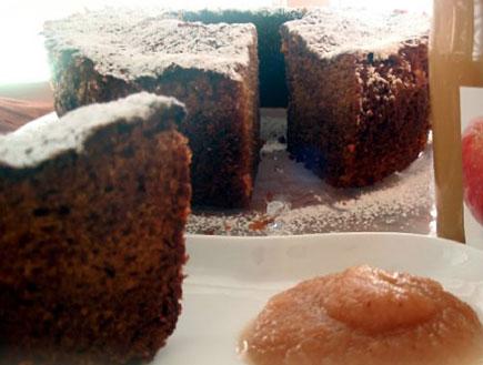 עוגת דבש-תפוזים עשירה (צילום: קולינריא)
