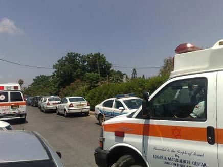 ניסיון רצח בבית שאן, היום (צילום: גלעד שלמור)