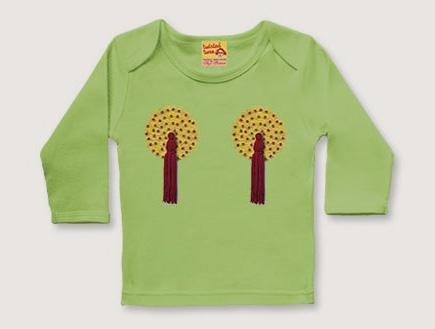 חולצה עם פטמות (צילום: twistedtwee.co.uk)