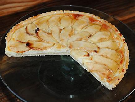 טרט ריקוטה תפוחים ודבש של גד (צילום: מורג ביטן,  יחסי ציבור )
