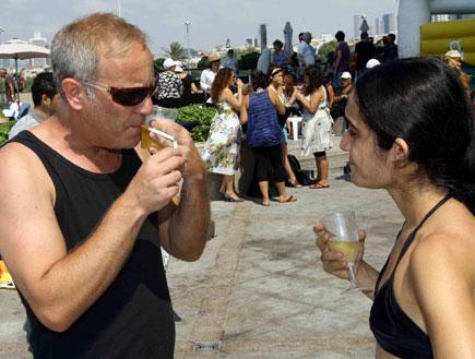 ירוע הבימה 2009 - שרון אלכסנדר (צילום: עודד קרני)