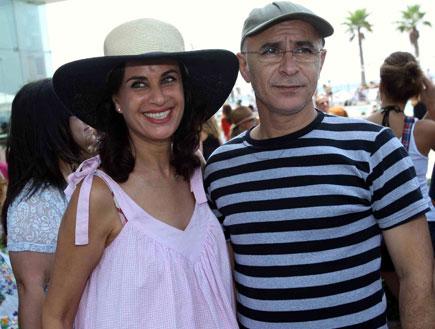 אירוע הבימה 2009 - יעקב כהן ורובי פורת שובל (צילום: עודד קרני)