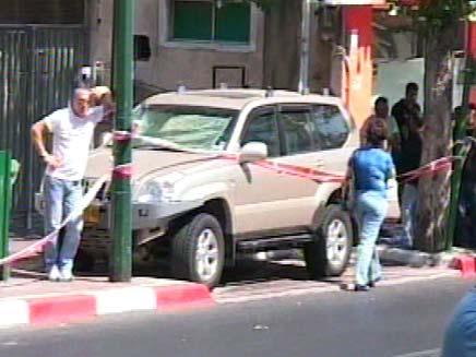 זירת הרצח ברמת גן (צילום: חדשות 2)