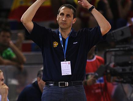 דייויד בלאט, מאמן נבחרת רוסיה (צילום: Lars Baron, GettyImages IL)