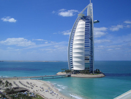 Burj Al Arab - dubai Jumeirah (צילום: אימג'בנק/GettyImages)