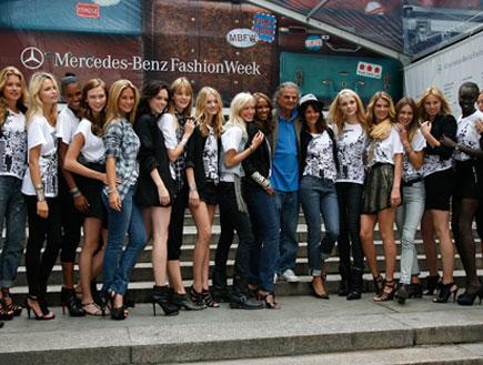 בר רפאלי בפתיחת שבוע האופנה בניו יורק (צילום: Brian Ach, GettyImages IL)