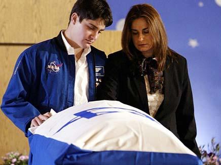 אסף ורונה רמון (צילום: AP)