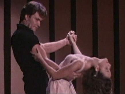 פטריק סוויזי מתוך הסרט ריקוד מושחת (צילום: CNN)