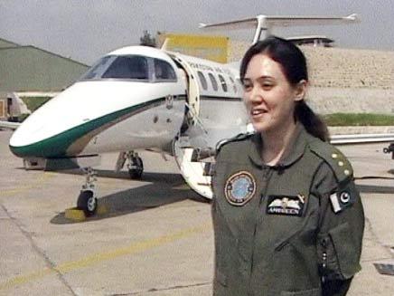 טייסת בחיל האוויר הפקיסטני (צילום: CNN)