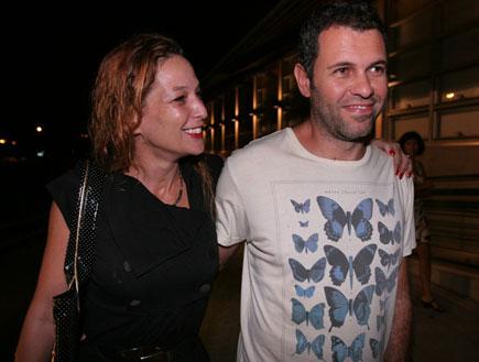 דנה ספקטור ובעלה אלכס (צילום: שוקה)