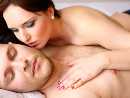 נרדם אחרי סקס (צילום: Nina Vaclavova, Istock)