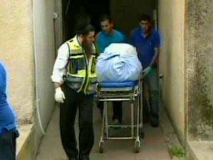 רצח בדירת המגורים, אילוסטרציה (צילום: חדשות 2)